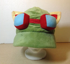 LOL league of legends Teemo One Size Cosplay Party Plush Hat