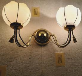 Wall light x2