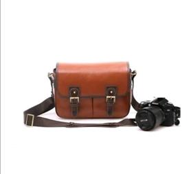 BV & Jo Large Waterproof Vintage PU leather DSLR Camera bag, brand new
