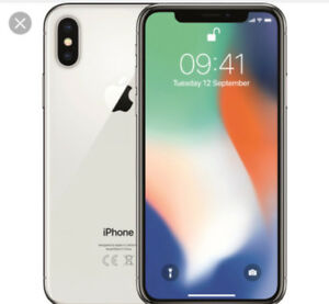 Unlocked iPhone X 64GB w/ AppleCare for 2 years