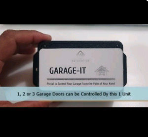 "Smart device to control Your Garage door Opener(s). ""Garage-IT"""