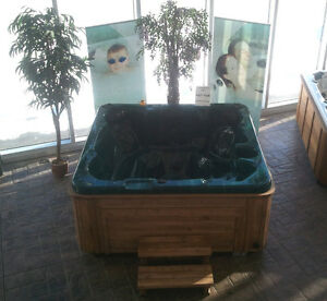 BRAND NEW HOT TUB  -  ONLY $78/mo (oac)  made  in Edmonton