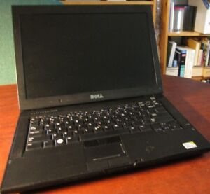 Portable Dell 'affaires' 64 bit core 2 duo 2,4 ghz.