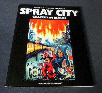 "Graffiti Buch / Magazine ""SPRAY CITY"" Graffiti in Berlin Montana Belton Spavar"