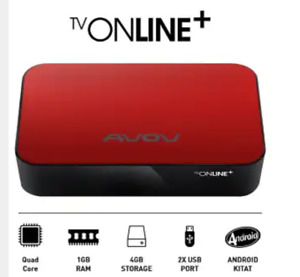 Iptv box avov online plus