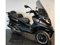 2016 66 PIAGGIO MP3 500 LT SPORT ABS 3 WHEEL SCOOTER BLACK ONLY 800 MILES CAT N