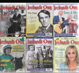 "Large selection of Ireland""s Own magazines FREE"