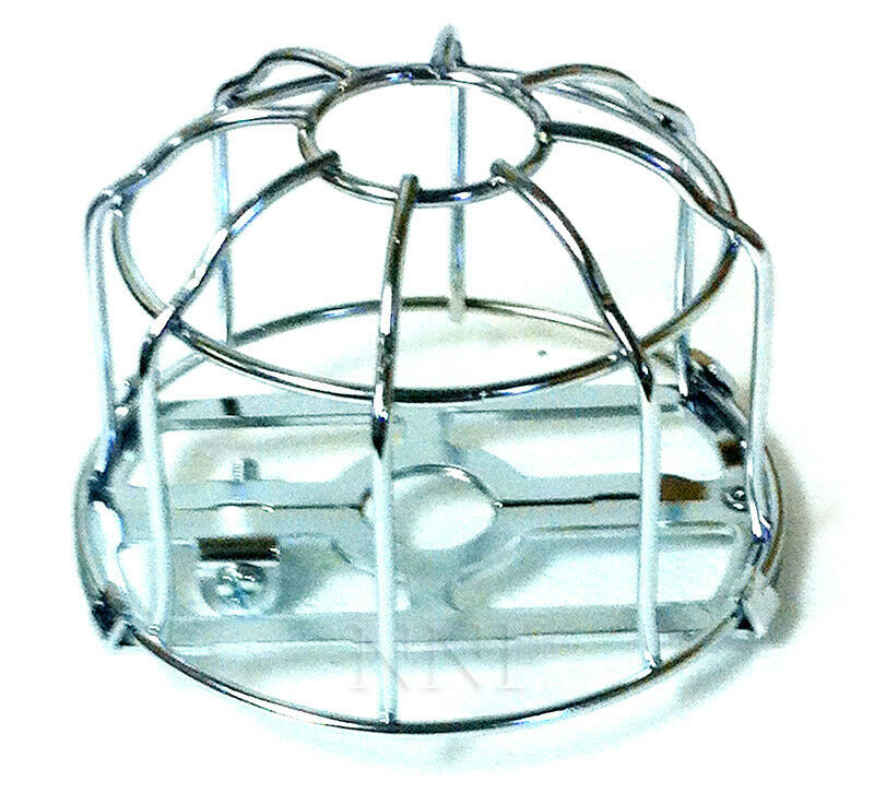 "1/2"" IPS Fire Sprinkler Headguard or Cage Heavy Duty Chrome Plated"
