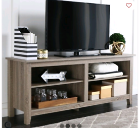"58"" wood tv/ console unit brand new boxed Rrp £150"