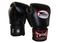 Twins Gel 16oz Cowhide Boxing Gloves