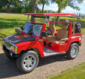 Hummer Golf Cart! (4 Seater)