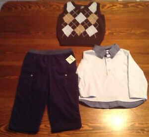 3-Piece Toddler's Outfit- Brand New-18 Months