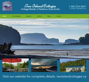 "Centrally-Located  ""Bay of Fundy ""Nova Scotia Cottage Rentals"