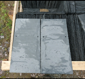 2065 no Unused 50x25cm Natural Roofing Slates