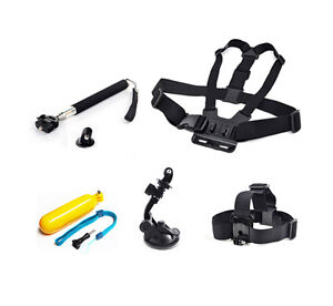 Head-Chest-Mount-Suction-Monopod-Accessories-For-GoPro-1-2-3-4-Session-Camera