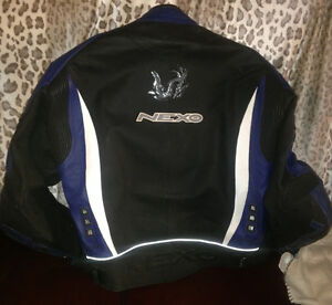 almost new Leather Nexo Motorcycle Jacket XL 44