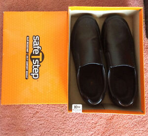 Black Non Slip Work Shoes