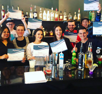 Get Trained and Certifed as a Bartender