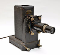 Antique E. Leitz Wetzlar Projector With Dimax 120mm Lens Works