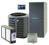 Furnace and Air conditioning American Standard dealer