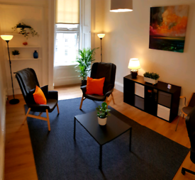 Therapy / counselling room to rent near Charing Cross (Sandyford Pl)