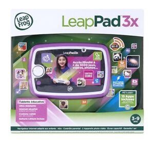in French LeapPad3x features front and back cameras bnib