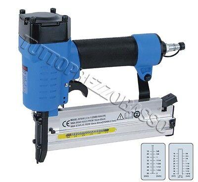 Chiodatrice spillatrice aria 2 funzioni sparachiodi pistola per chiodi 10 50mm