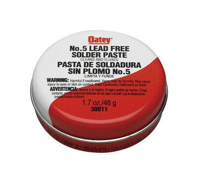 Oatey 1.7 Oz. Lead-free Solder Paste Aluminum 1 Pc.
