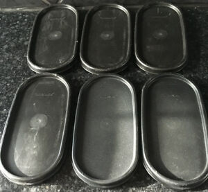 Tupperware Modular Mate Oval Lids
