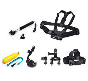 Chest-Head-Mount-Floating-Monopod-For-GoPro-2-3-4-Camera-Session-Accessories