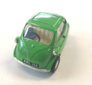 Spot-On Model by Triang BMW Isetta Green Diecast Toy Car