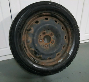 Winter tires, set of 4 on rims!