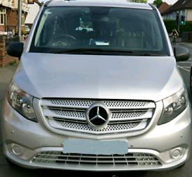 Mercedes Benz vito tourer select ex-long wheel 9-seater Euro-6 -no VAT