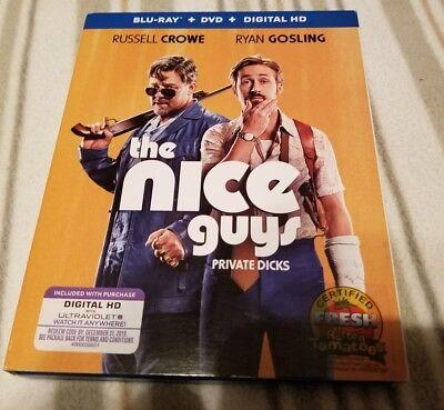 THE NICE GUYS Blu-Ray - DVD/Blue Ray
