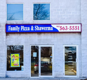 Family Pizza and Shawerma for sale! Established, Award wining!!