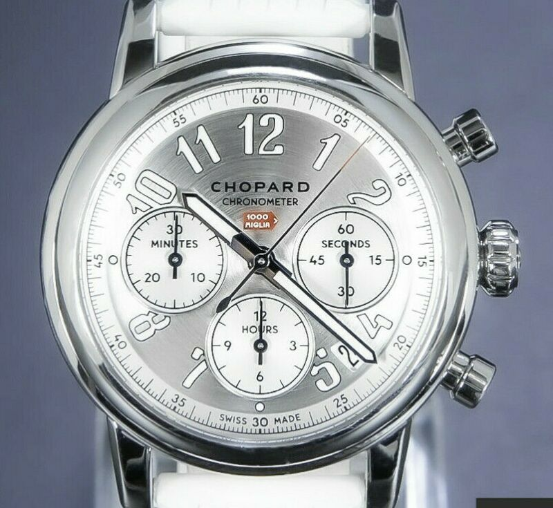 Chopard Mille Miglia 39 mm Classic Racing Automatic Sportive NOS – 168588-3001 - watch picture 1