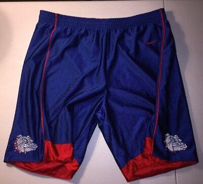 Gonzaga Bulldogs Basketball Shorts Reversible Size Adult Xl By Team Nike