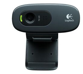 Logitech c270 webcam HD 720p with built in microphone