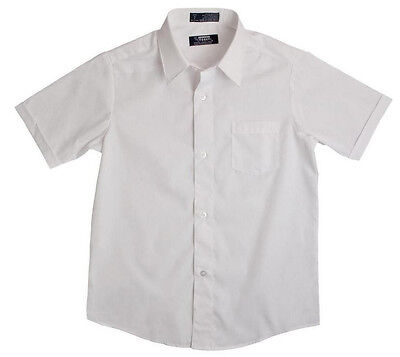 Boy's Dress Shirt French Toast School Uniforms White Oxford Short Sleeve - White Dress Shirt Boys