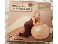 Large birth / exercise ball