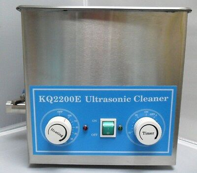 New Kq2200e Ultrasonic Dental Jewelry Cleaner 3l