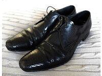 Mens Prada Patent Leather Formal Shoes