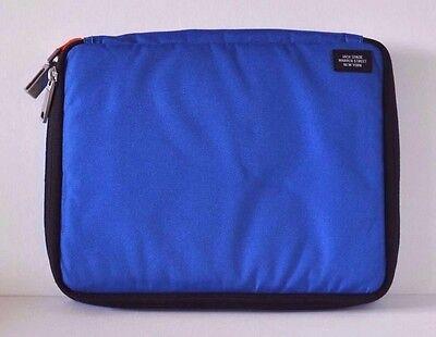 NEW kate spade JACK SPADE Blue Canvas Apple iPad 2, 3, Mini, Air Case 11