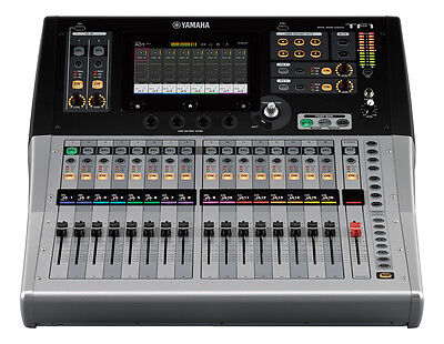 YAMAHA TF1 Digital Audio 16 Channel Mixer with Motorized Faders, Cubase Software, used for sale  Palm Coast