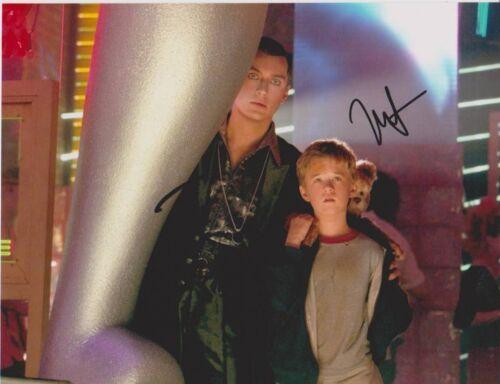Jude Law & Haley Joel Osment signed 10x8 Image A (UACC approved dealer COA