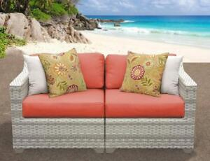 Rosecliff 3 Pc Outdoor Sofa Set (1 Only)