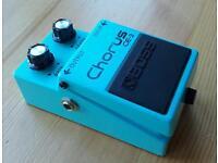 Boss CE2 Chorus pedal vintage guitar effects pedal CE-2