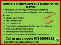 PROPERTY RENOVATION & MAINTENANCE SERVICE by our PROFESSIONAL CONSTRUCTION TEAM - Enquire Now