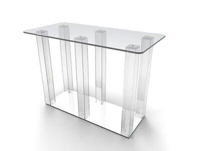 Acrílico Transparente Plexiglass Iglesia Comunión Mesa de Escritorio 11461-Glue