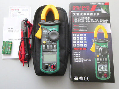 Mastech Ms2108a 4000 Counts Acdc Current Volt Tester Digita Clamp Meter